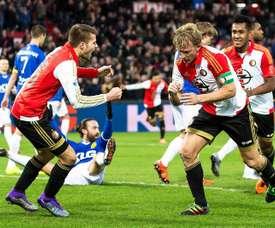 El Feyenoord está imbatible de momento, 5 de 5 victorias en el arranque liguero. EFE