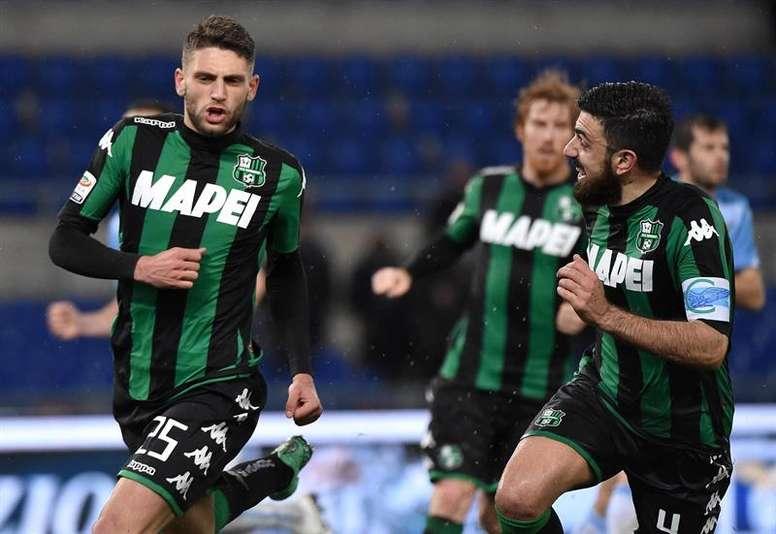 Naples est intéressé par Domenico Berardi. EFE