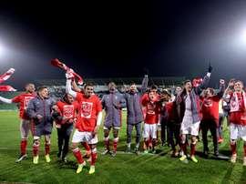 El Sporting de Braga se reencontró con el triunfo tras su último 'pinchazo'. EFE/Archivo