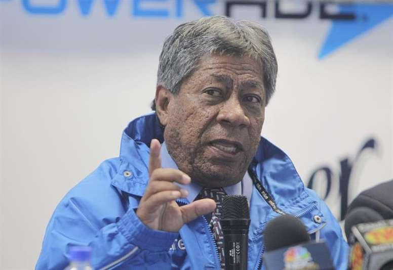 El entrenador hondureño confía en la selección de su país. EFE