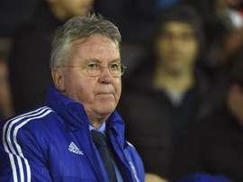 El entrenador holandés del Chelsea, Guus Hiddink. EFE/Archivo
