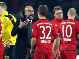 Kimmich claims that Guardiola has had a huge influence on his career. EFE/EPA
