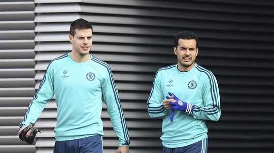 Pedro quitte Chelsea. EFE