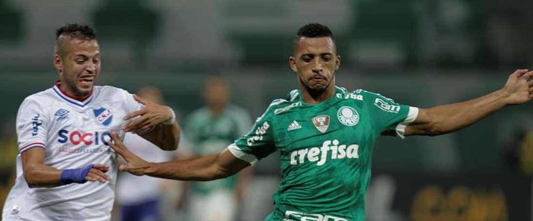 El Palmeiras cae en su visita al Ponte Petra. EFE