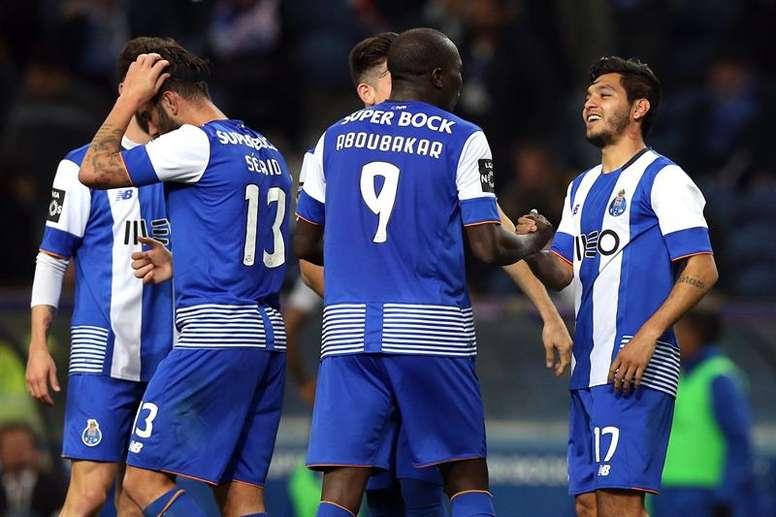 El Oporto podría verse reforzado con un jugador de la Liga Griega. EFE/EPA