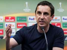 Gary Neville was not shy about his opinion on Manchester United's performance. EFE