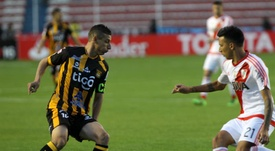 Vangioni le dejó un 'recadito' a Boca. EFE
