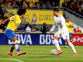Barcelona want to sign Las Palmas defender Mauricio Lemos. EFE/Archivo