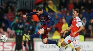 Barcelone et Arsenal ne se sont plus joués depuis des années. EFE