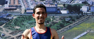 El atleta Ayad Lamdassem. EFE/Archivo