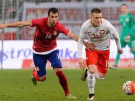 Serbia lidera el Grupo D de la clasificación europea para el Mundial 2018 en Rusia. EFE/Archivo