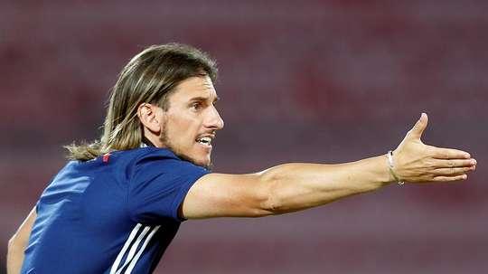 Beccacece no dio más detalles sobre Messi. EFE