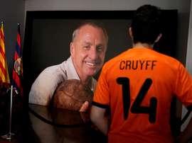 Un hommage sera rendu à Cruyff. EFE