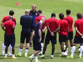 ... fútbol de Puerto Rico. La selección de Estados Unidos prepara la Copa  América. EFE 89cf0fe3227b7