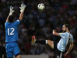 Higuain will no longer play for Argentina. EFE