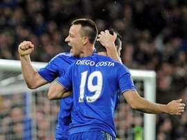Costa dedicó un original mensaje a Terry. EFE/Archivo