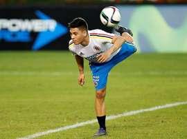 Quintero ya se sobrepuso a una lesión grave. EFE/Archivo