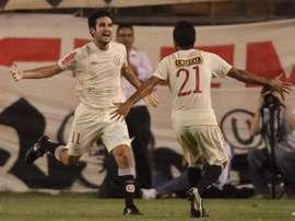 Gran victoria de Alianza Lima ante Juan Áurich. EFE/Archivo