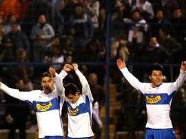 Universidad Católica ganó con goles de Castillo y Fuenzalida. EFE/Archivo