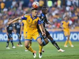 El colombiano Candelo aseguró que Querétaro solo piensa en vencer a Pumas. EFE