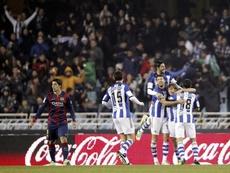 La derrota en Anoeta supuso una crisis de la que salió fortalecido el Barça. EFE/Archivo