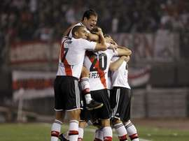 River Plate consigue una nueva victoria ante Olimpo. EFE/Archivo