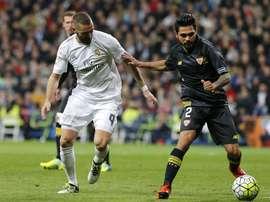 Trémoulinas ha brillado en el Sevilla, pero el último curso ha estado marcado por las lesiones. EFE