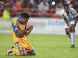 Reparto de puntos en un choque espectacular en la Liga MX. EFE