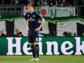 Kroos was not happy with the kick-off time for the game. EFE