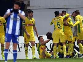 El Paços de Ferreira será el nuevo equipo de Valente. EFE