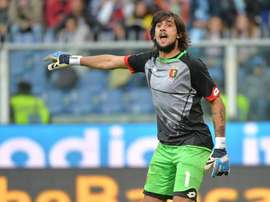 Genoa's goalkeeper, Mattia Perin. EFE/Archivo