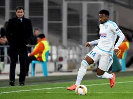 N'koudou is action for Marseille. EFE/Archivo