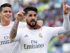 O Real Madrid quer terminar de integrar os dois jogadores. EFE