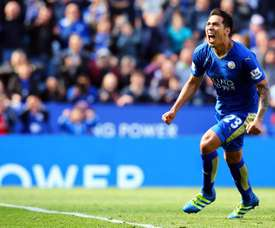Leonardo Ulloa is close to a contract extension. EFE/EPA