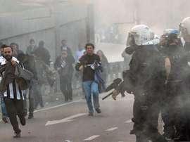 Turkish fan violence has been hitting the headlines recently. EFE/EPA