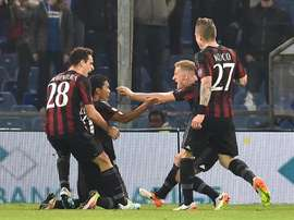 Bacca formará pareja en la delantera con Balotelli. AFP