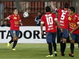 Unión Española venció por 0-2 a Santiago Wanderers. EFE/Archivo