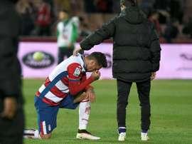 El jugador del Granada se lesionó ante el Atlético de Madrid. EFE/Archivo