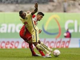 El jugador 'águila' cargó contra su técnico. EFE