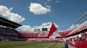 El himno del Sevilla hizo un milagro. EFE