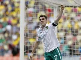 Nuevo gol del delantero argentino. EFE/Archivo