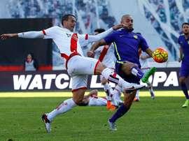 Antonio Amaya quiere empezar a sumar puntos. EFE