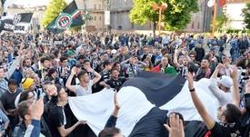 La policía dio un palo a los ultras de la Juve. EFE