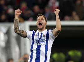 Iñigo Martinez is thought to be a target for Real Madrid. EFE/Archivo