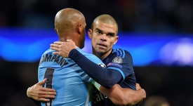 Pepe intéresse le Barça. EFE