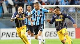 Impresionante gol de Walter Montoya en los cuartos de la Libertadores.EFE