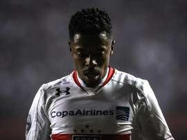 Michel Bastos, novo reforço do Palmeiras. EFE