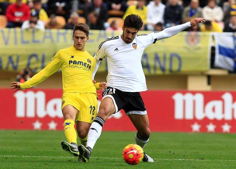 El Valencia ha tasado en 65 millones a André Gomes. EFE