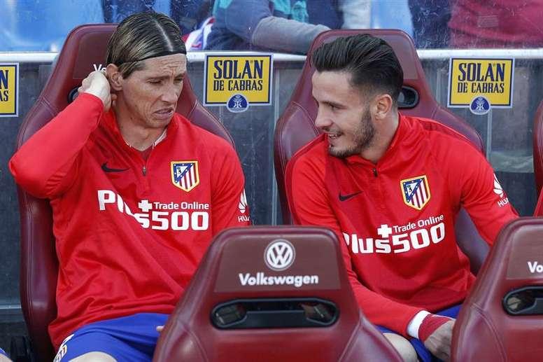 Saul a évoqué sa relation avec Torres. EFE