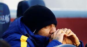 Tottenham descarta Daniel Alves. EFE/Archivo